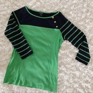 🌿Last Chance🌿 Blue Green Ralph Lauren Shirt Sz M